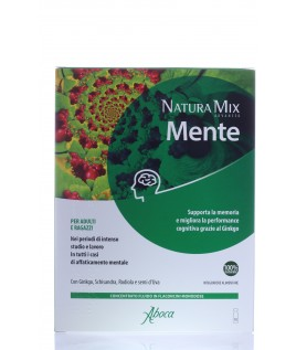 Natura Mix Advanced Mente 10 flaconcini aboca
