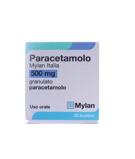 Paracetamolo Mylan 20 bustine 500 mg granulato