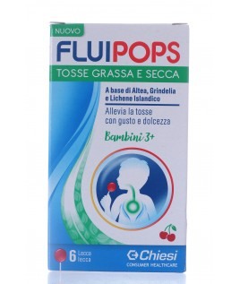 Fluipops 6 lecca Lecca Tosse grassa e secca