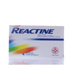 Reactine 6cpr 5mg+120mg