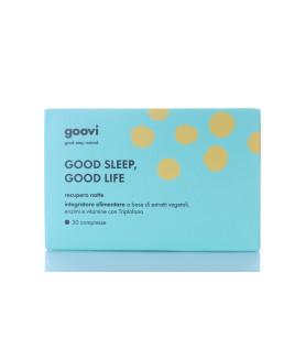 The Good Vibes Company Goovi Recupero Notte 30 compresse integratore alimentare rilassamento
