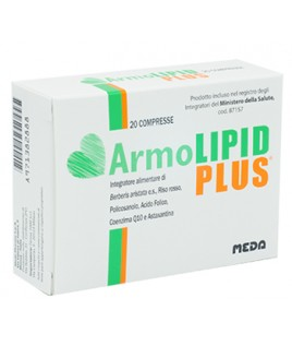 ARMOLIPID PLUS INTEGRATORE ALIM 20CPR