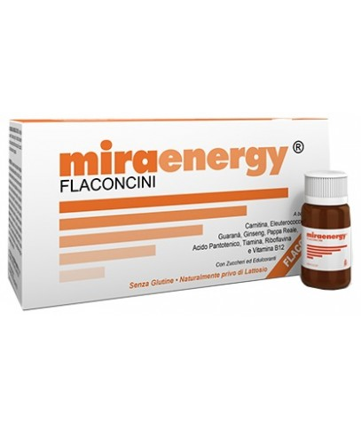 MIRAENERGY 10 FLACONCINI MONOUSO 10ML