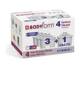 BODYFORM CARTUCCE FILTRANTI PROMO 3+1