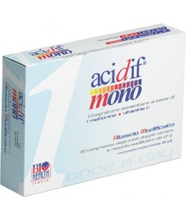 ACIDIF MONO INT ALIM 30CPR