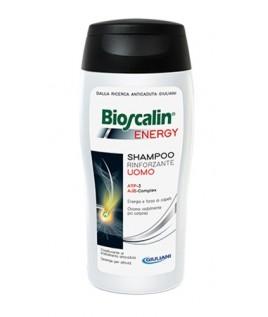 BIOSCALIN ENERGY uomo shampoo rinforzante 200 ML
