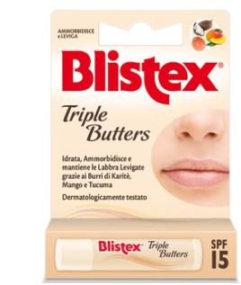 BLISTEX TRIPLE BUTTERS STK LAB