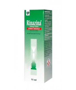 RINAZINA 0,1% 15ML SPRAY NASALE