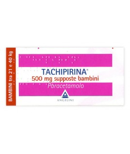 TACHIPIRINA BAMBINI  10 SUPPOSTE 500 MG