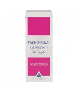 TACHIPIRINA 120MG/5ML SCIROPPO FLACONE 120ML
