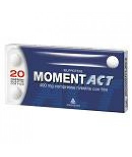 MOMENTACT 400MG 20CPR FILM RIV