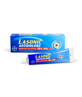 LASONIL ANTIDOLORE 10% 1TUBO 50G GEL