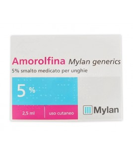 Amorolfina Mylan generics *smalto 2,5ml 5%